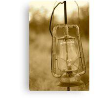 old lantern Canvas Print