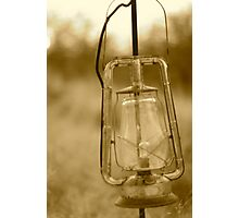 old lantern Photographic Print