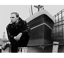 On the Waterfront Marlon Brando Digital Painting Photographic Print
