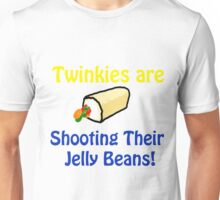 Twinkies are shooting their Jelly Beans T-Shirt Unisex T-Shirt