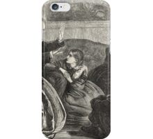 Victorian Christmas Story Telling 1862 iPhone Case/Skin