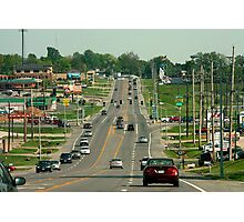 Streets of Cape Girardeau Photographic Print