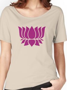 lotus flower zen yoga Women's Relaxed Fit T-Shirt