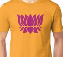lotus flower zen yoga Unisex T-Shirt