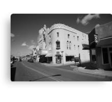 Santa Fe Street Scene Canvas Print