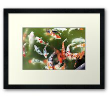 One Fish, Two Fish... Framed Print