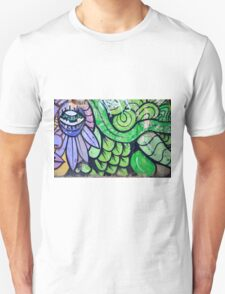 Colorful Abstract street art  Unisex T-Shirt