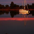 Sunset. Yachts at Aurora Reservoir. Denver. Colorado. USA. Photo 4 by Anatoly Lerner
