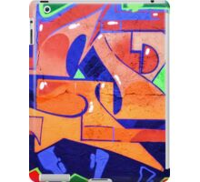 Colorful Abstract street art  iPad Case/Skin