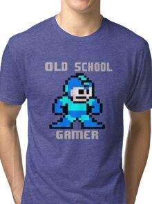 Old School Gamer Tri-blend T-Shirt
