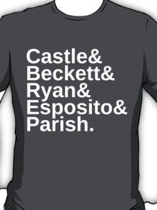 Castle & Beckett & Ryan & Esposito & Parish T-Shirt