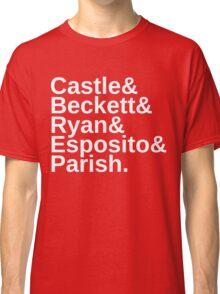 Castle & Beckett & Ryan & Esposito & Parish Classic T-Shirt