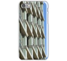 Abstract architecture with blue sky background. iPhone Case/Skin