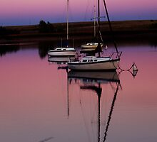 Sunset. Yachts at Aurora Reservoir. Denver. Colorado. USA. Photo 9 by Anatoly Lerner