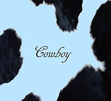 Blue Cowhide Boy by Gypsykiss