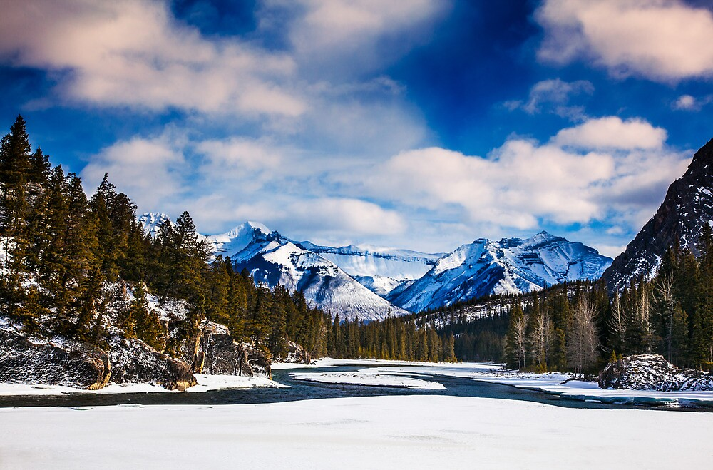 Rocky Mountains 1 by alan shapiro
