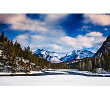 Rocky Mountains 1 Photographic Print