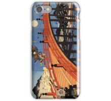 Japanese Print:  Warriors on a Bridge iPhone Case/Skin