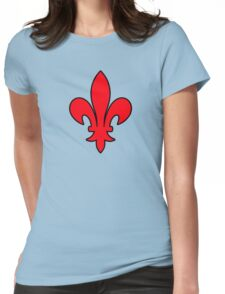 lys  france roi royale Womens Fitted T-Shirt