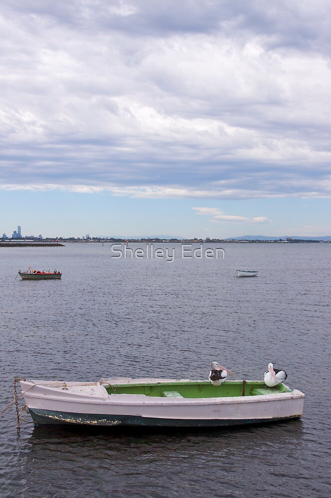 A boat or three.  by Shelley Eden