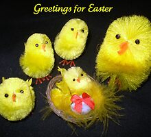 *Easter Greetings to all* by EdsMum