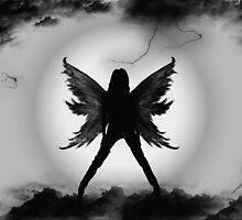 Dark Angel by Rozalia Toth