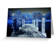 Infrared Dock Greeting Card