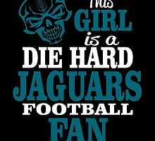 This Girl Is A Die Hard Jaguars Football Fan. by sports-tees