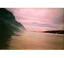 Fun With Photoshop: Close Up Of A Perth Wave Photographic Print