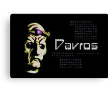 Doctor Who - Davros Canvas Print