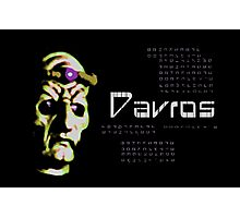 Doctor Who - Davros Photographic Print