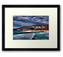 Bronte Beach HDR Framed Print