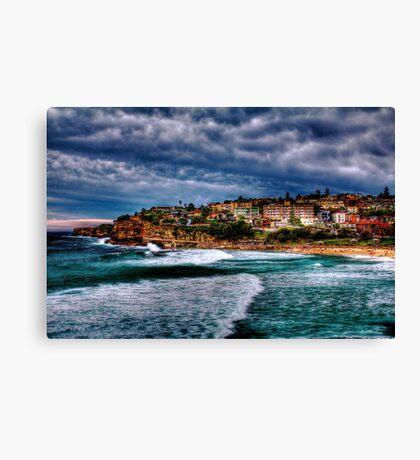 Bronte Beach HDR Canvas Print