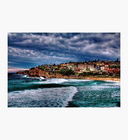 Bronte Beach HDR Photographic Print