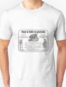 Poorly translated Bull fight Bill 1873 T-Shirt
