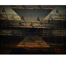 olympic stadium cubist style Photographic Print