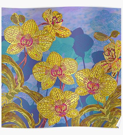 Orchid Extravaganza Poster