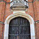 Tudor Door by Karen E Camilleri