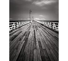 """Walking the Planks"" ∞ Shorncliffe, QLD - Australia Photographic Print"