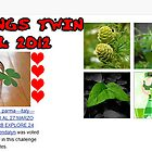 BANNER WINNER CHALLENGE &quot;ALL THINGS TWIN&quot; APRIL 2012 by Guendalyn
