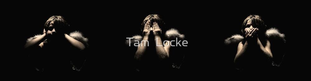 Hear no, see no, speak no... by Tam  Locke