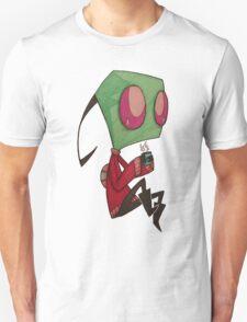 Invader ZIM (sweater+coffee) T-Shirt