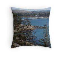 Victor Harbour from Granite Island Throw Pillow