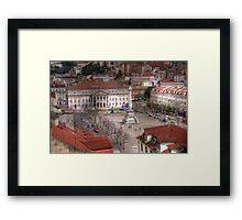 A view inside  Lisbon (Lisboa) Portugal Framed Print