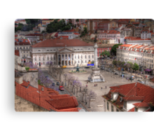 A view inside  Lisbon (Lisboa) Portugal Canvas Print