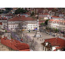 A view inside  Lisbon (Lisboa) Portugal Photographic Print