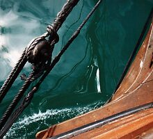Over the Bow by Les Unsworth