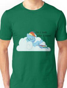 Rainbow Dash Chilling On a Cloud Unisex T-Shirt