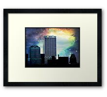 Downtown Milwaukee © Framed Print