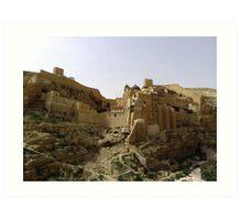 Mar Saba monastery Art Print